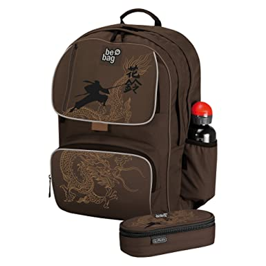Amazon.com | Herlitz School Backpack be.bag cube Ninja ...