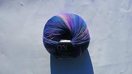 Online Super calcetín de 4 compartimento Merino extra fina de color 100 g lana para calcetines