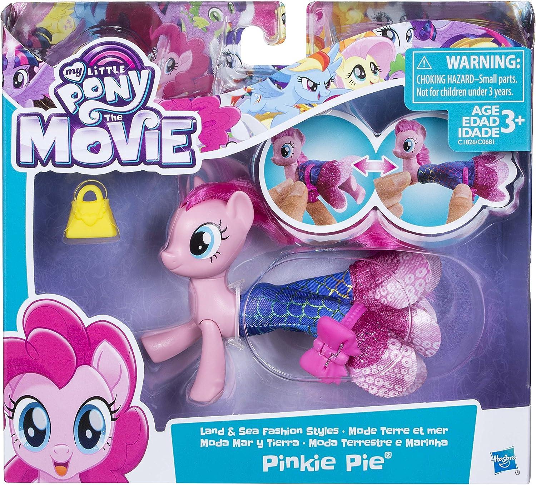 Hasbro My Little Pony the Movie Land /& Sea Pinkie Pie Seapony Figure-New Boxed