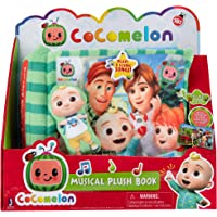 Cocomelon Nursery Rhyme Singing Time Plush Book, Featuring Tethered JJ Plush Character Toy, for JJ's Daily Musical…