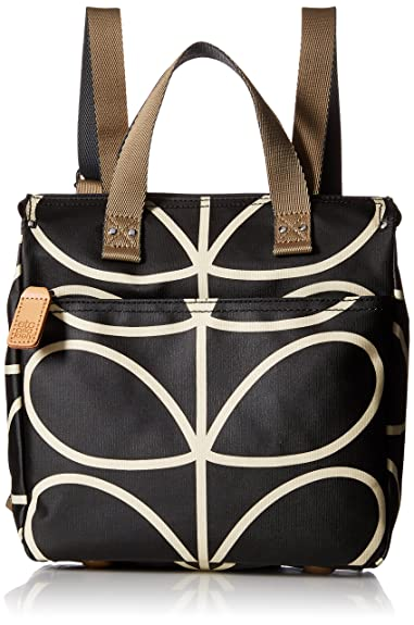 a0d78b541e Orla Kiely Womens Small Bp Backpack Liquorice  Amazon.co.uk  Shoes ...