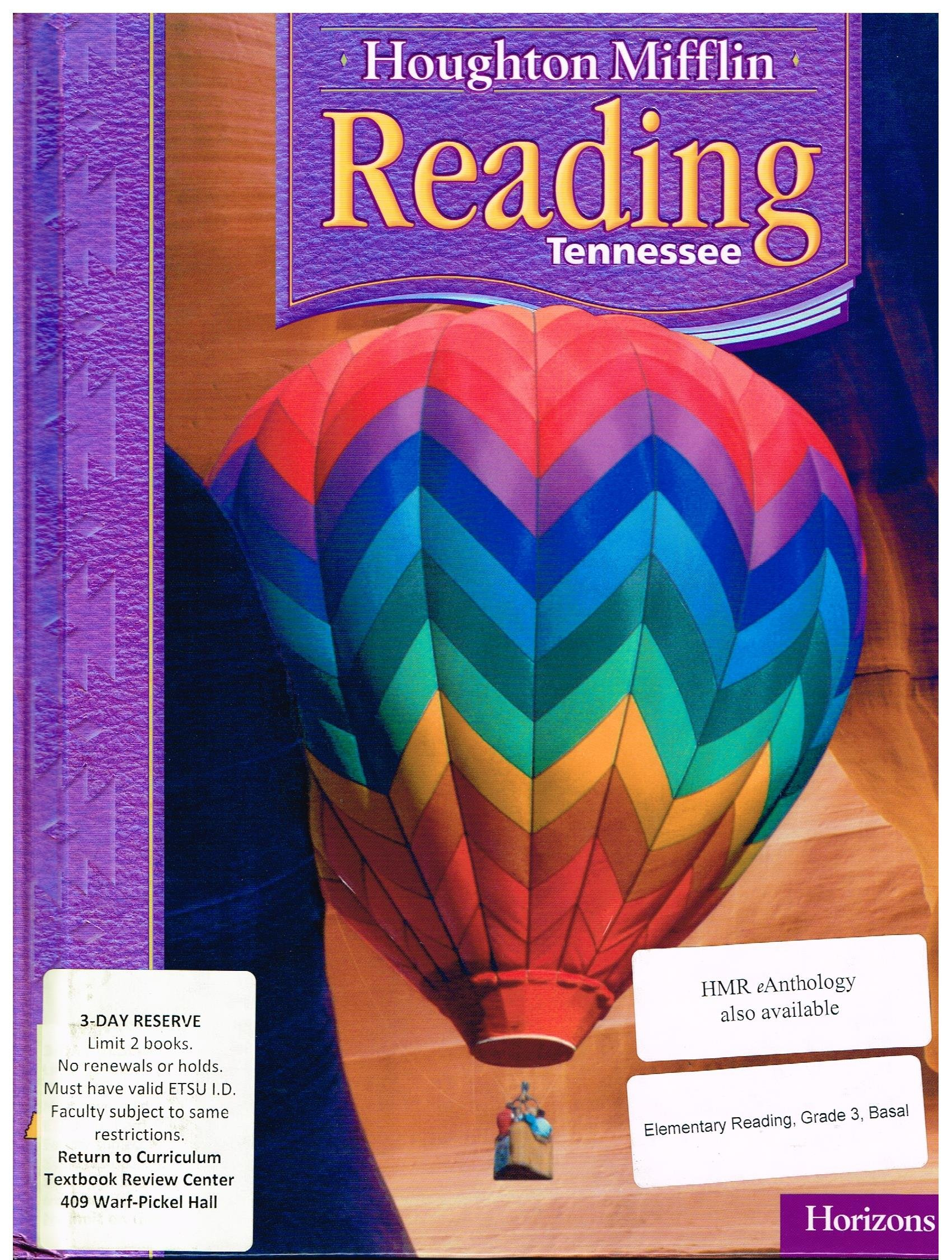 Download Houghton Mifflin Reading Tennessee: Student Edition Level 3.2 Horizons 2007 PDF