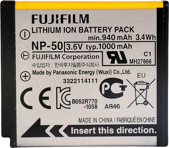 7004 NP-48//Kodak Klic Micro-USB Cargador para Fuji NP-50