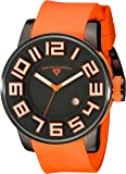Swiss Legend Men's 30427-BB-01-OSA Airbourne Stainless Steel Watch with Orange Band