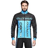Jollywear Radsport Winterjacke Funktions Mit Winddichter Membran Squadra Chaqueta Invernal térmica, Unisex Adulto