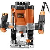 Black & Decker kw1200e-qs Fresatrice elettronico 1200W
