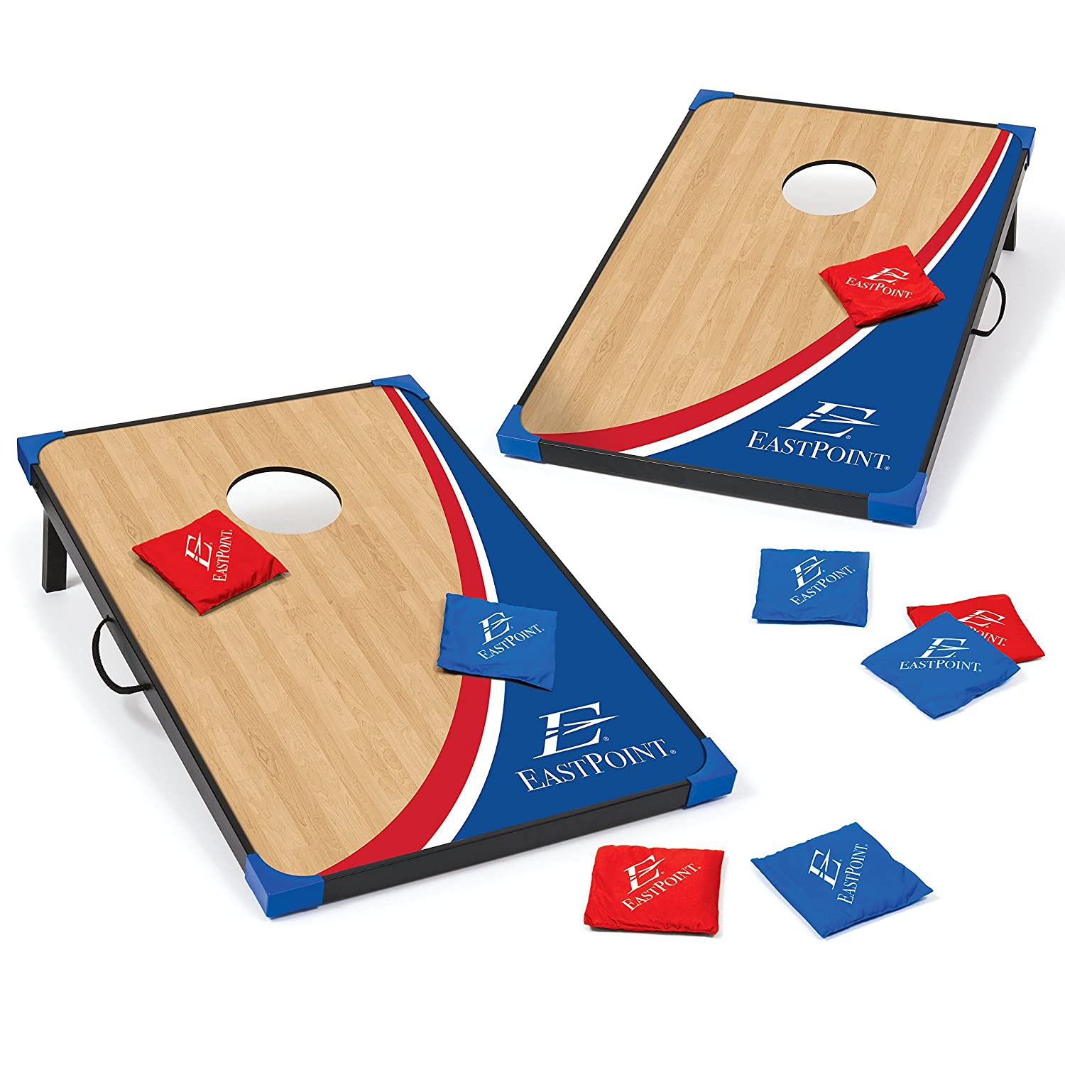 Liberty Bean Bag Toss Cornhole Game 36IN X 24IN East Point 1-1-16822-DS