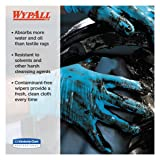 WypAll 41043 X80 Cloths with HYDROKNIT, Jumbo