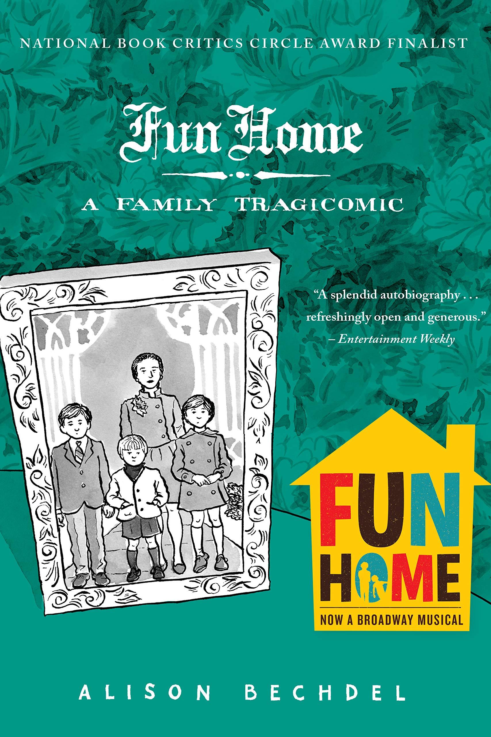 Fun Home: A Family Tragicomic: Bechdel, Alison: 0787721851837: Amazon.com:  Books