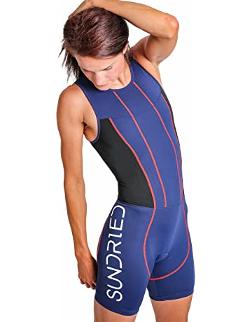 08d59e78358 Sundried Womens Premium Padded Triathlon Tri Suit Compression Duathlon  Running Swimming Cycling Skin Suit
