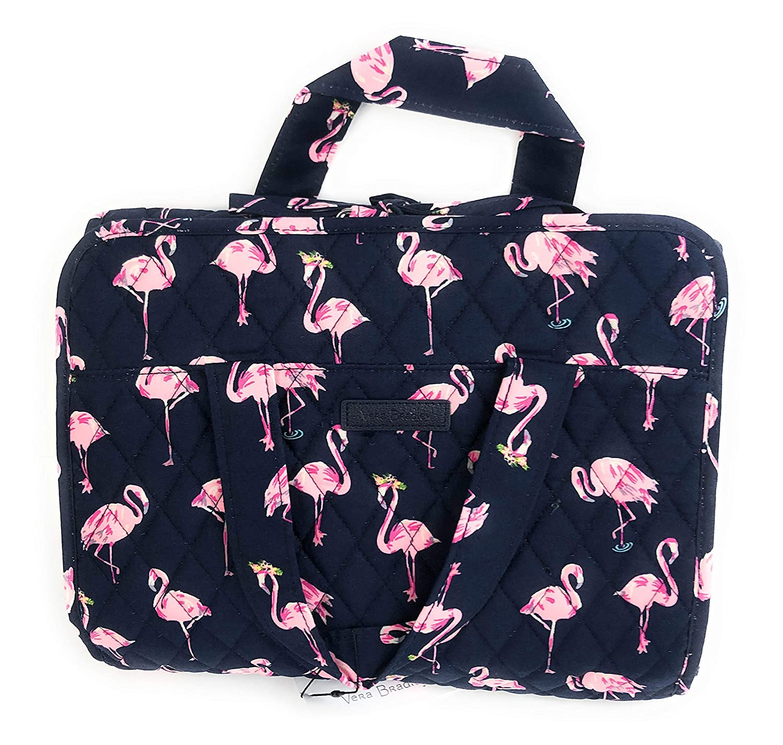 Vera Bradley Hanging Organizer Travel Cosmetic Flamingo Fiesta