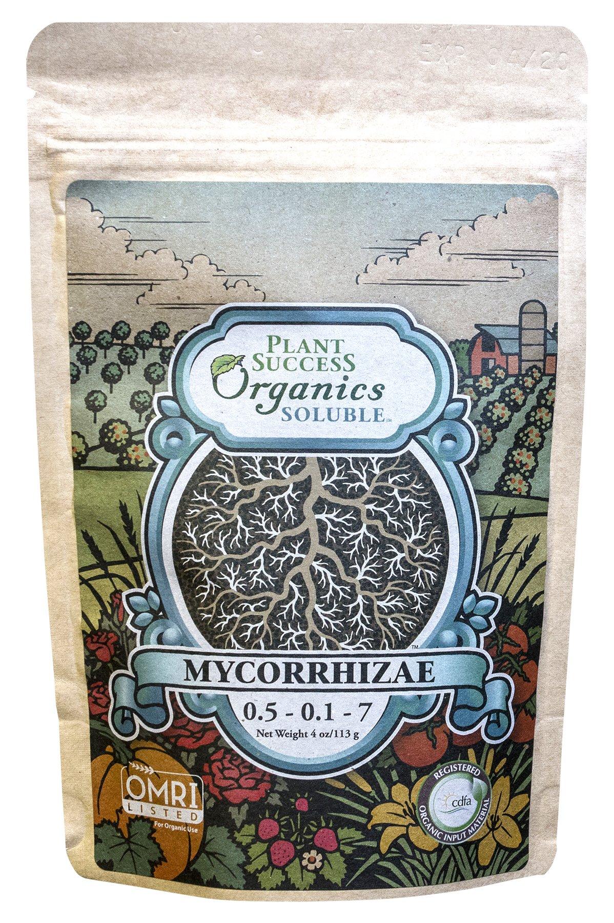 Plant Success Soluble Mycorrhizae 4oz 720300