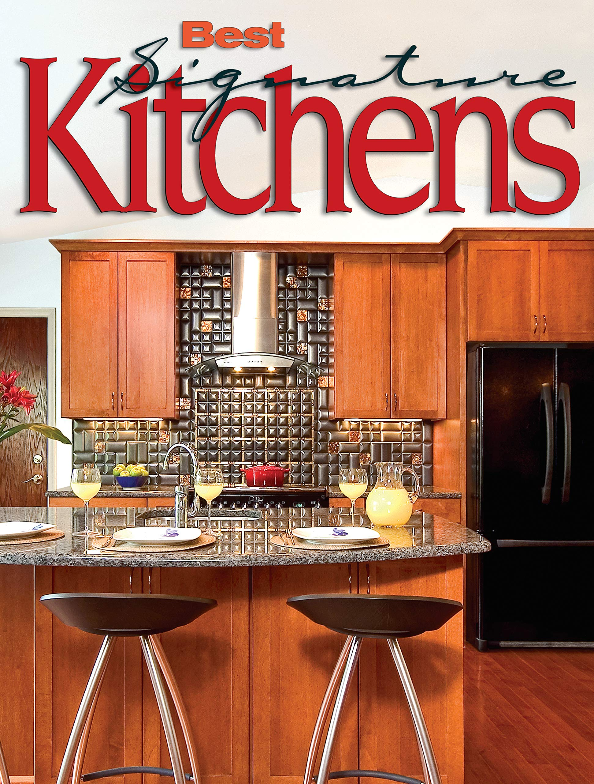 Best Signature Kitchens Over 100 Fabulous From Top Designers Home Decorating Editors Of Creative Homeowner Kitchen 9781580114554 Amazon Com Books