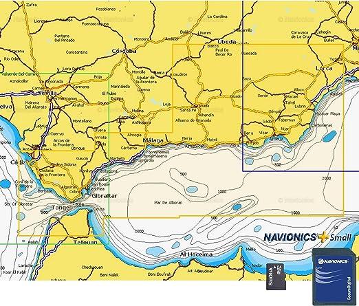 Navionics Plus Small MicroSD/SD Águilas - Cádiz: Amazon.es: Deportes y aire libre
