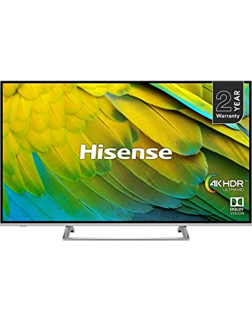 Hisense H43B7500UK 43-Inch 4K UHD HDR Smart TV with Freeview Play (2019) [Energy Class A]