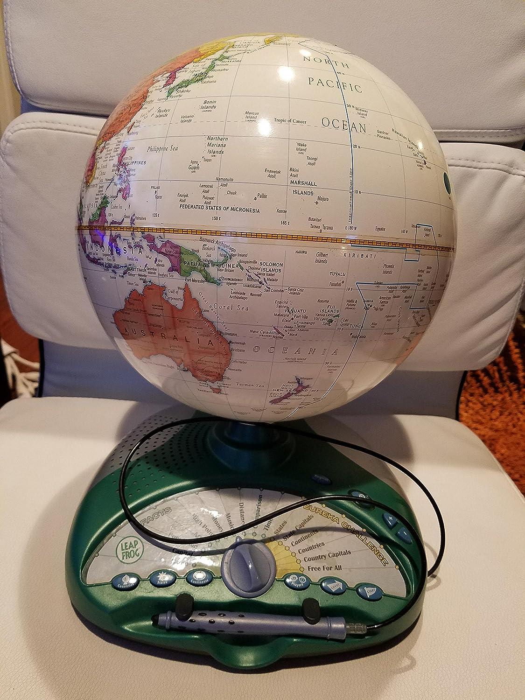 LeapFrog Explorer Smart Globe Interactive Games Eureka Challenge