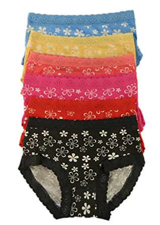 M/&S 5 Pack Cotton Rich High Leg Midi Knickers Briefs Size 10-20