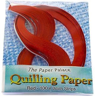 ODETOJOY Quilling Strisce di Carta Bianco 5/mm o 3/mm 240/Quilling Strisce di Carta 3mm Wei/ß Bianco 520/mm Lunghezza 120/G//M2