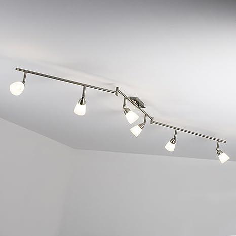 Lámpara LED de techo Spot arco lámpara de techo (6 focos ...