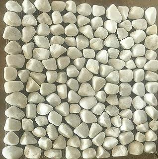 Piedras de mármol blanco de Carrara, para decoración de jardín ...