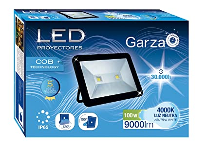 Garza Lighting Outdoor - Foco Proyector LED Exterior IP65 COB ...