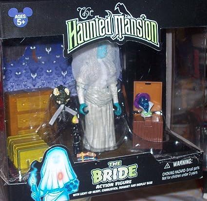 Amazon.com: Disney La Mansión Encantada la novia figura de ...