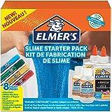 Elmer's Glue Slime Starter Kit, Clear Glue, Glitter Glue Pens and Magical Liquid Slime Activator Solution, Count of 8