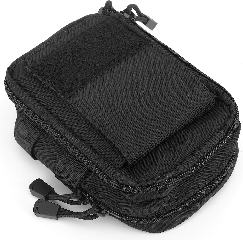 4pcs Molle Belt Pouch Waist Bag Small Utility Pouch Tactical Accessory Bags