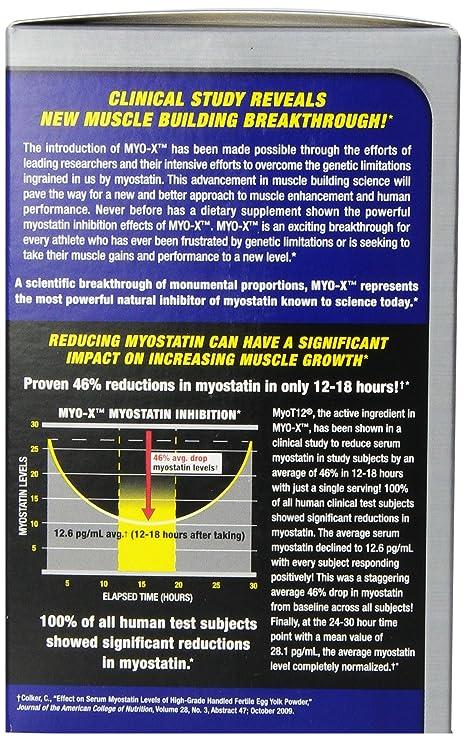 MHP 300 g Myo-X Vanilla Myostatin Inhibitor Powder
