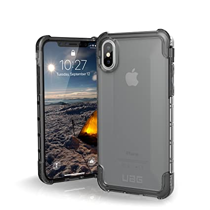 quality design 751c2 9de8c Urban Armor Gear UAG Plyo Rugged Protection Case / Cover Designed for  iPhone Xs / X (5.8 Screen) (Military Drop Tested) - Ice