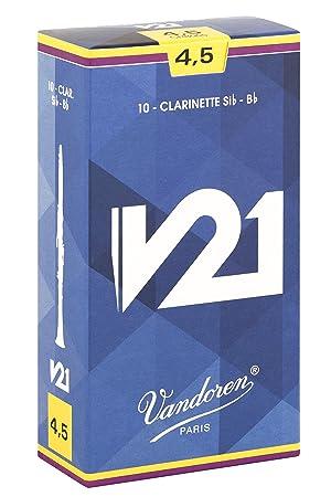 Vandoren CR8045 - Caja de 10 cañas para clarinete sib: Amazon.es: Instrumentos musicales