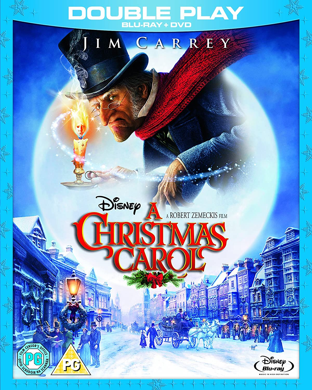 A Christmas Carol (Blu-ray + DVD): Amazon.co.uk: Jim Carrey, Steve ...
