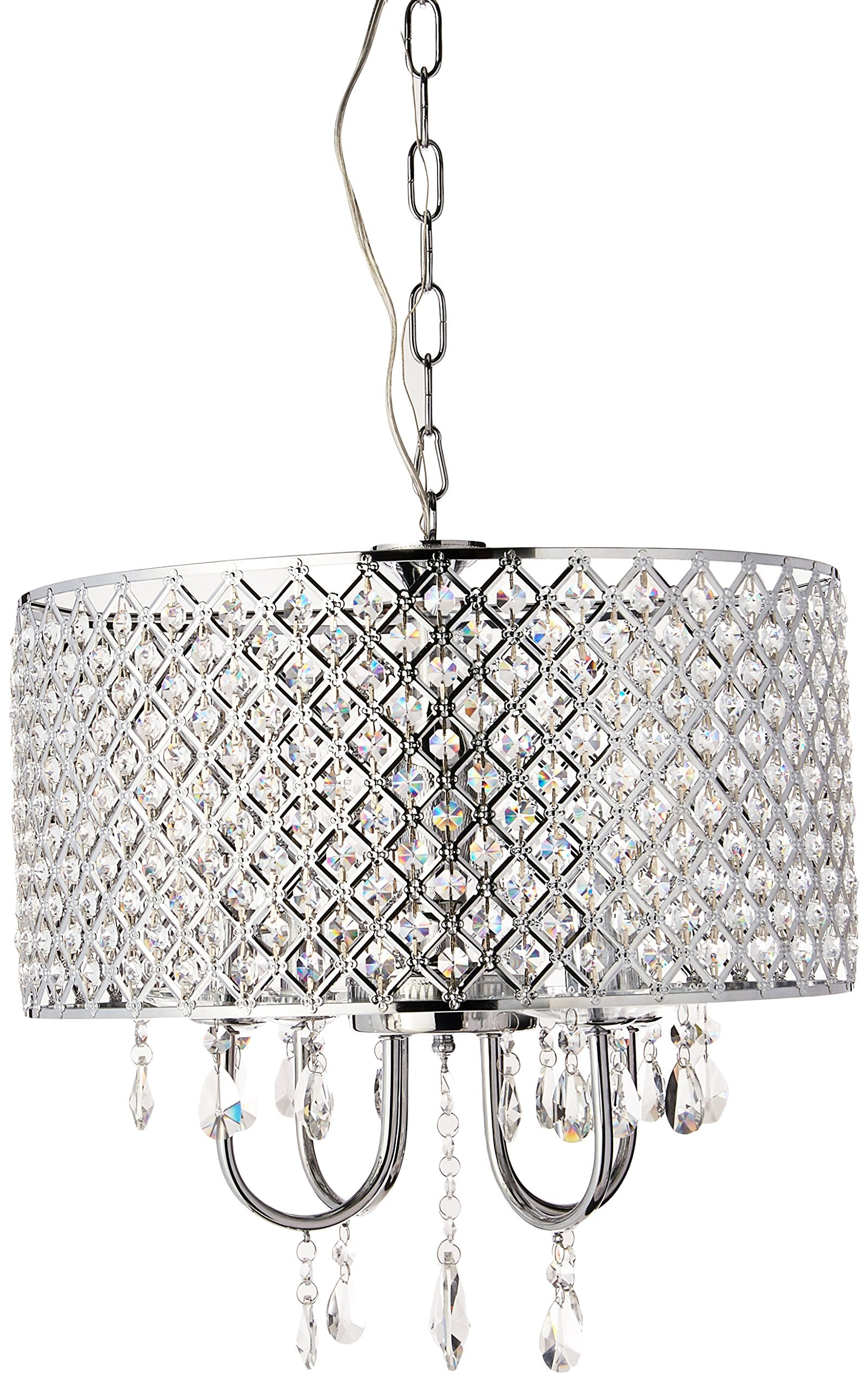 Whse of Tiffany RL5633 Deluxe Crystal Chandelier, 9'' x 17'' x 17'' by Whse of Tiffany