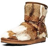 Aumu Womens Classic Thermal Mid Calf Thickening Platform Short Winter Snow Boots …