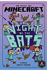 Minecraft: Night of the Bats (Minecraft Woodsword Chronicles #2) Kindle Edition