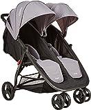 Combi Fold N Go Double Stroller, Titanium