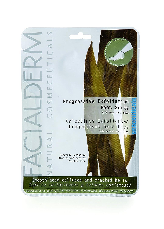 Facialderm Calcetines Exfoliantes Progresivos: Amazon.es: Salud y cuidado personal