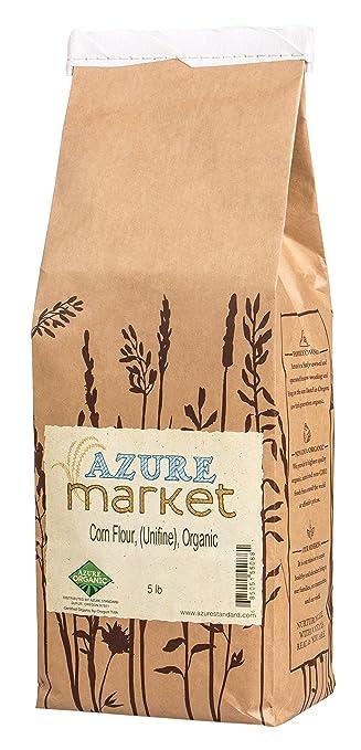 Azure Market Organics Corn Unifine Flour, Non-GMO, Gluten-Free, 5