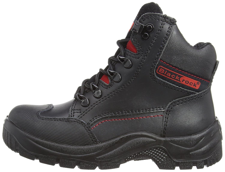 Blackrock SF42 Unisex-Erwachsene Sicherheitsschuhe, Schwarz - schwarz - Größe: 38 EU