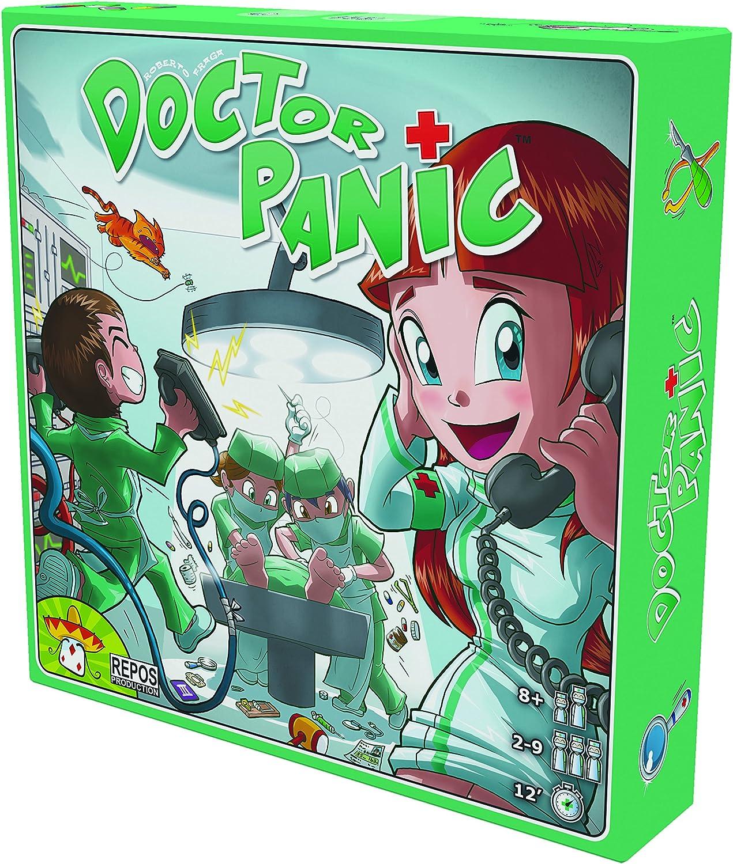 Repos Production- Doctor Panic - Juego infantil (en alemán), Multicolor (RPO0001) , color/modelo surtido: Amazon.es: Juguetes y juegos