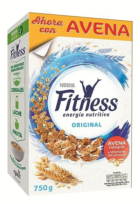Fitness Copos de trigo integral y arroz tostados - 750 gr: Amazon.es: Alimentación y bebidas