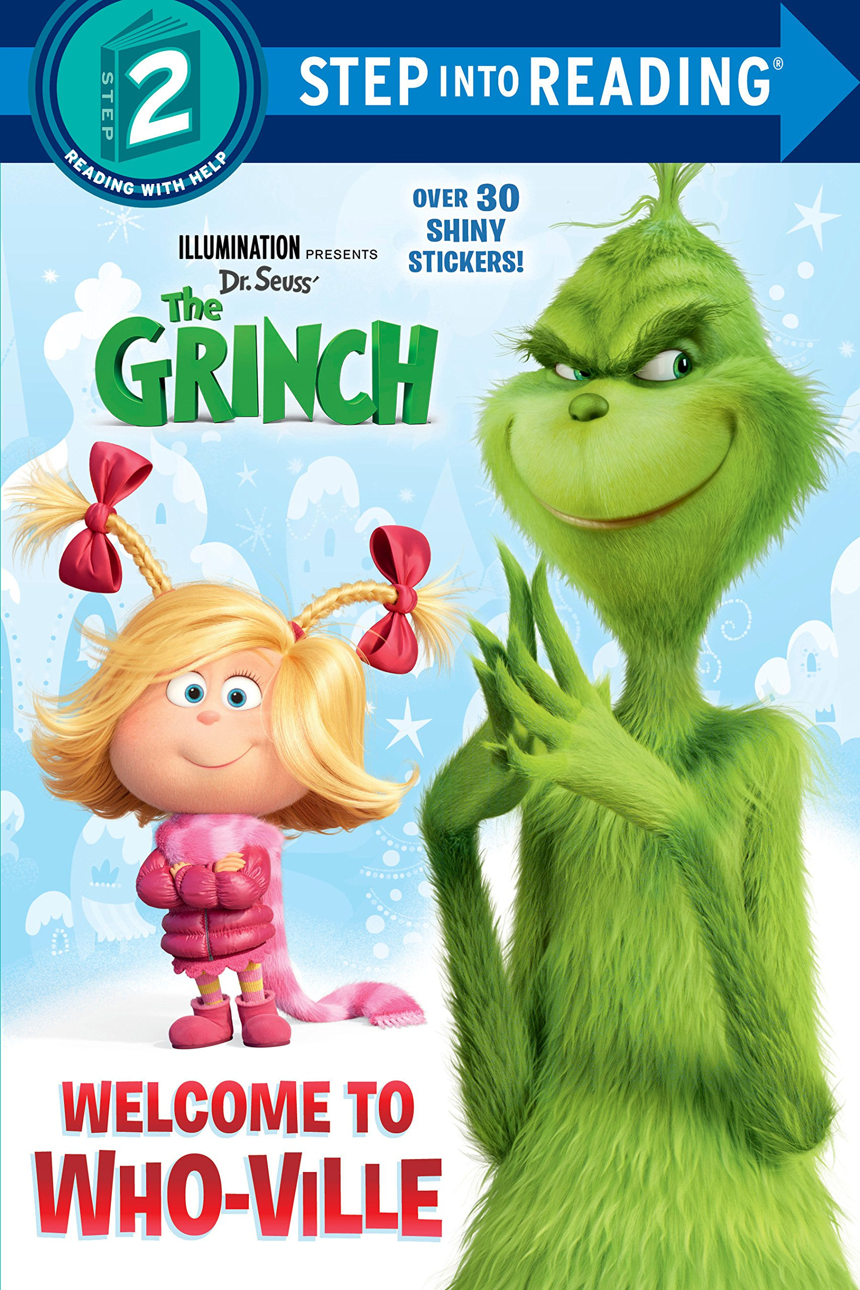 Welcome To Who Ville Illumination S The Grinch Step Into Reading Amazon Co Uk Random House 9780525580584 Books