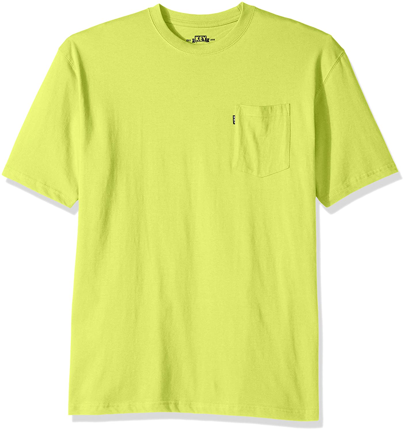 Key Apparel Men's Blended Tee Big and Tall 822BT