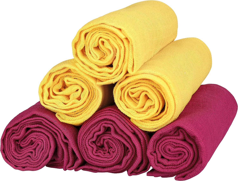 Mull pannolino 6/panno Anti-Rigurgito lavabile, 100/% cotone bavaglini 70/X 80