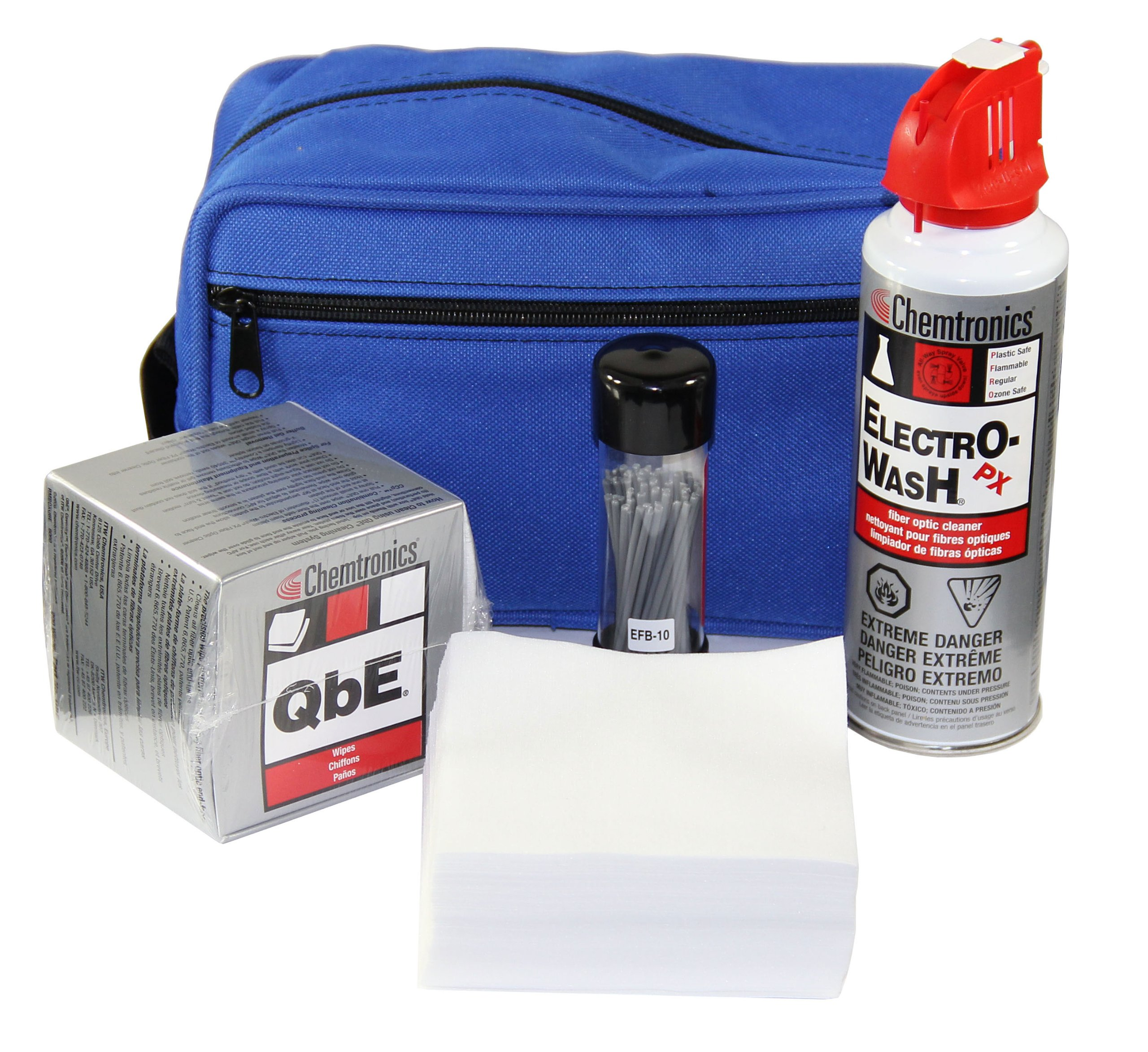 Chemtronic CFK1010 Fiber Optic Installation/Maintenance Cleaning Kit