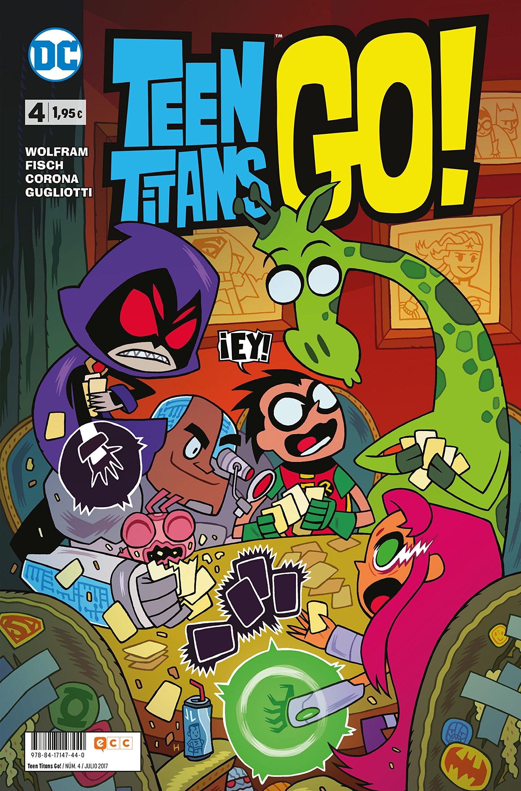 Teen Titans Go 4 Tapa blanda – 4 jul 2017 Sholly Fisch ECC Ediciones 8417147446