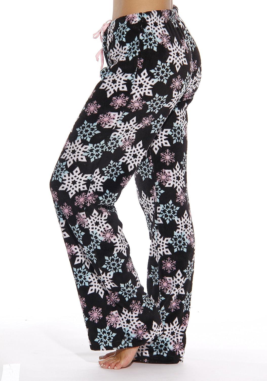 Just Love Womens Plush Pajama Pants Petite to Plus Size Pajamas