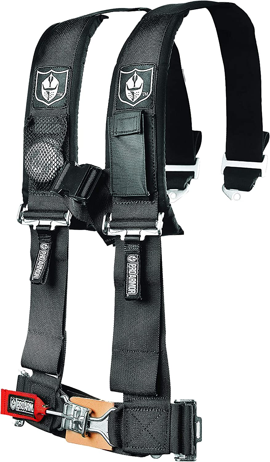 """Pro Armor A114230 Black 4-Point Harness 3"""" Straps"""