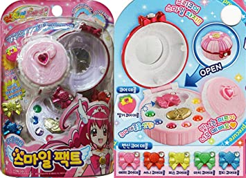 Bandai Smile Precure  Colorful Transformation Smile Pact Compact Cosplay