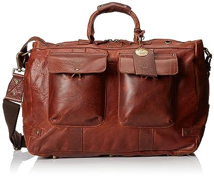 cdfb7c804472 Amazon.com  Will Leather Goods Men s Leather Traveler Duffle